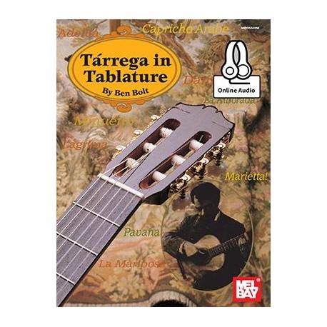 Tarrega In Tablature - Guitare Tab