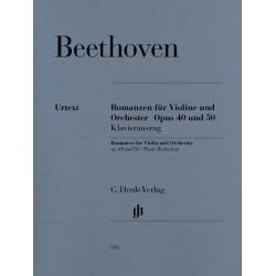 Romance 1 & 2 Beethoven, violon - Piano