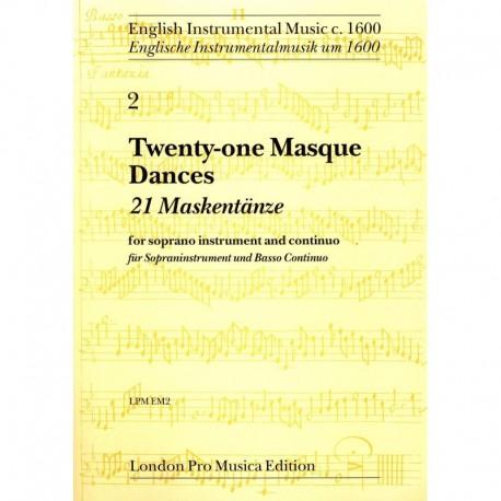 21 Masque Dances - Flûte Soprano + Piano