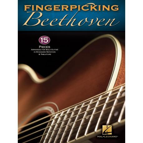 Fingerpicking Beethoven - Guitare tab