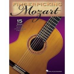 Fingerpicking Mozart - Guitare tab
