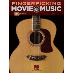 Fingerpicking Movie Music - Guitare tab