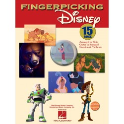 Fingerpicking Disney - Guitare tab
