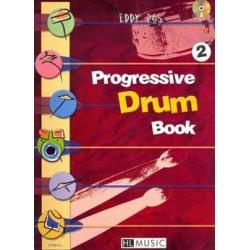 Progressive Drum book vol 2 - Eddy Ros