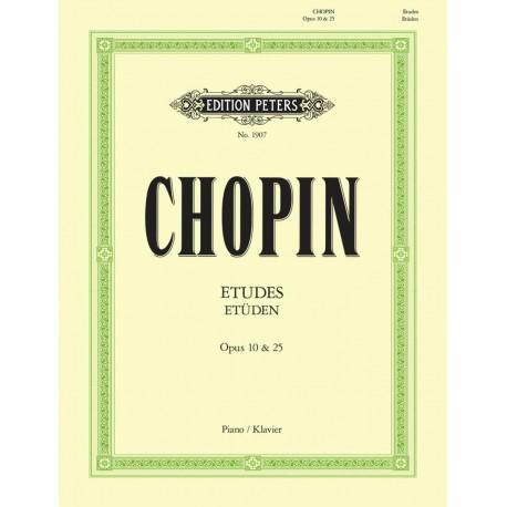 Etudes Chopin Op. 10 & 25 - Piano