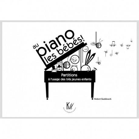 Au piano les bébés - Kaddouch