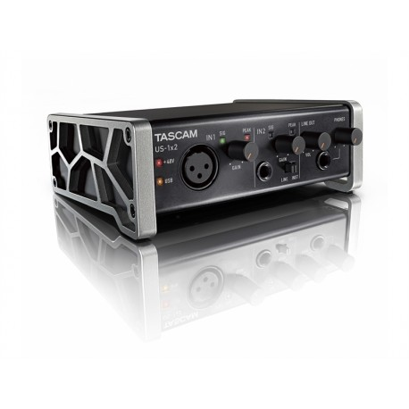 TASCAM US-1x2, USB Audio Interface