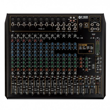 RCF F16XR - Table de mixage 16 canaux