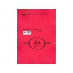 Formation Musicale de Base Vol. 2 - rouge - Solfège