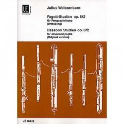Bassoon Studies Op. 8/2Hautbois