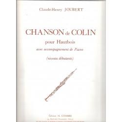 Chanson de Colin pour Hautbois