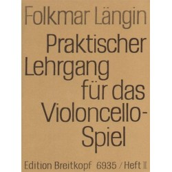 Praktischer Lehrgang Vol 2 - Folkmar Längin - Violoncelle