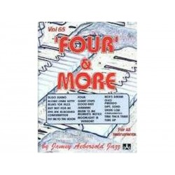 Four and more - Aebersold Vol 65 - Jazz - avec 2 CD