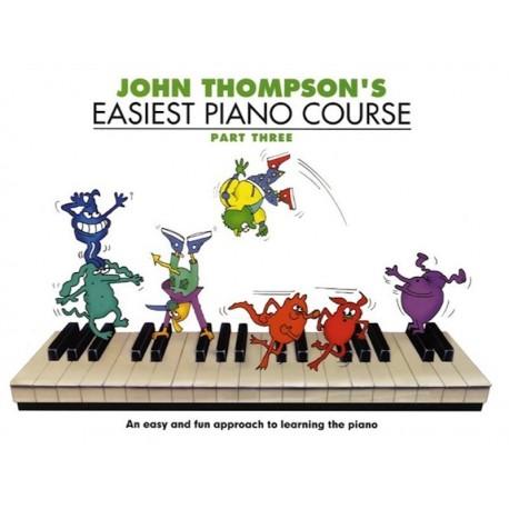 Easiest Piano Course 3  - John Thompson's - liquidation