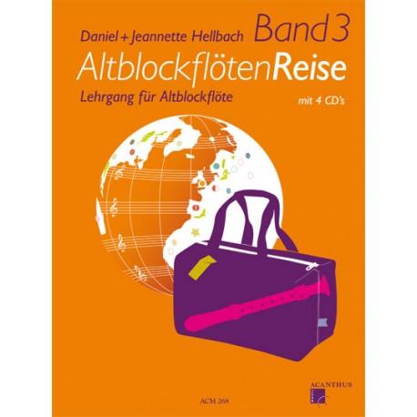 AltblockflötenReise Band 3 avec 4 CD's