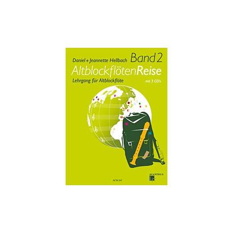 AltblockflötenReise Band 2 avec 3 CD's