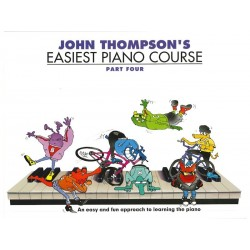 Easiest Piano Course 4  - John Thompson's