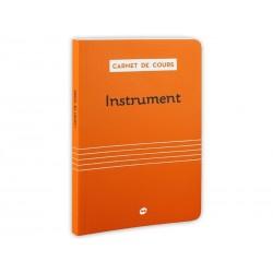 Carnet de Cours - Instrument