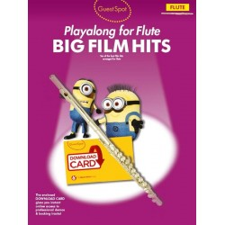 Guest Spot: Big Film Hits Playalong - Flute