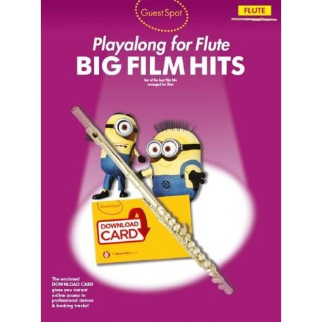 Guest Spot: Big Film Hits Playalong - Flute