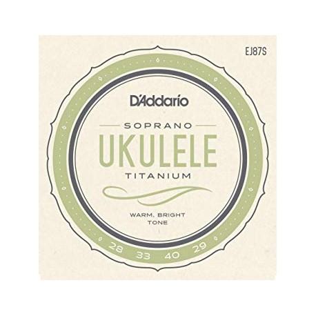 Cordes  Ukulele Soprano Monofilament/Silver - GCEA