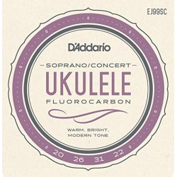 Cordes Ukulele Soprano/Concert  Carbon - GCEA