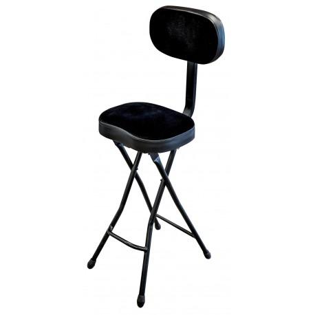 Siège / chaise haute pliable avec dossier