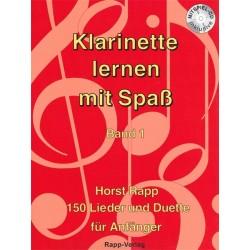 Klarinette Lernen mit Spass Vol. 1 - Horst Rapp