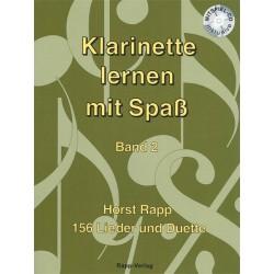Klarinette Lernen mit Spass Vol. 2 - Horst Rapp