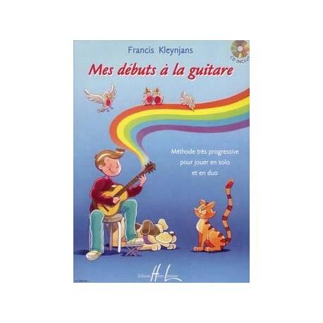 Mes débuts à la guitare - Francis Kleynjans