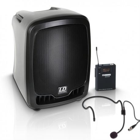 Roadboy 65 HS - Sono portable sur accu. + micro casque HF