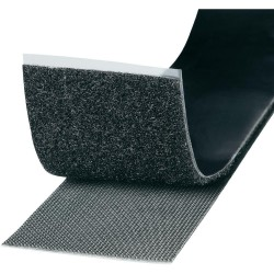 Velcro 100cm x 5cm - Fixation pédale d'effet