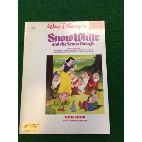 partitions Walt Disney Snow White pour flûte à bec