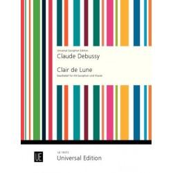 Clair De Lune - Debussy - Sax Alto + Piano