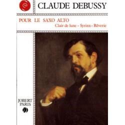 Pour le saxophone alto - Clair de Lune + Syrinx +Rêverie - Debussy