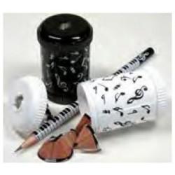 Taille crayon Rond - noir ou blanc