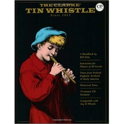 Tin Whistle The Clarke + CD - liquidation