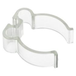Clip passe-câble pour tube 10 à 50mm (4 pièces)