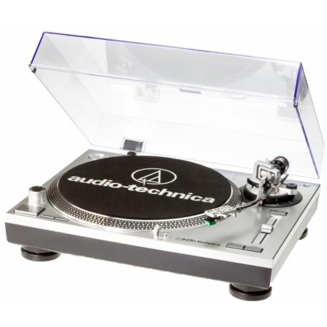 Platine Audio Technica LP120 Silver - Vinyles