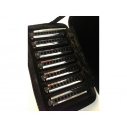 HOHNER Blues Band harmonicas set de 7 pièces