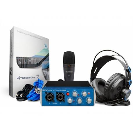 PRESONUS Audiobox 96 Studio Bundle - Interface Audio