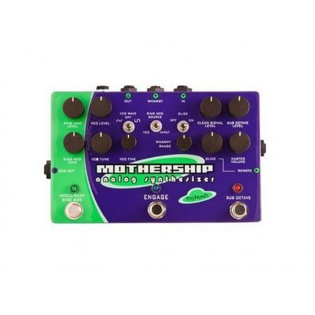 Pigtronix MGS Mothership Synth ACTION