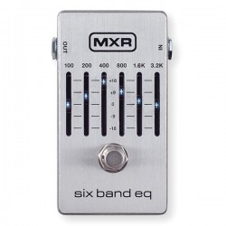 MXR Graphic Equalizer - 6 Band EQ Equaliseur
