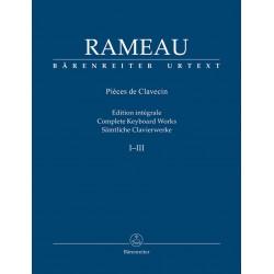 Intégrale I-III RAMEAU - Clavecin
