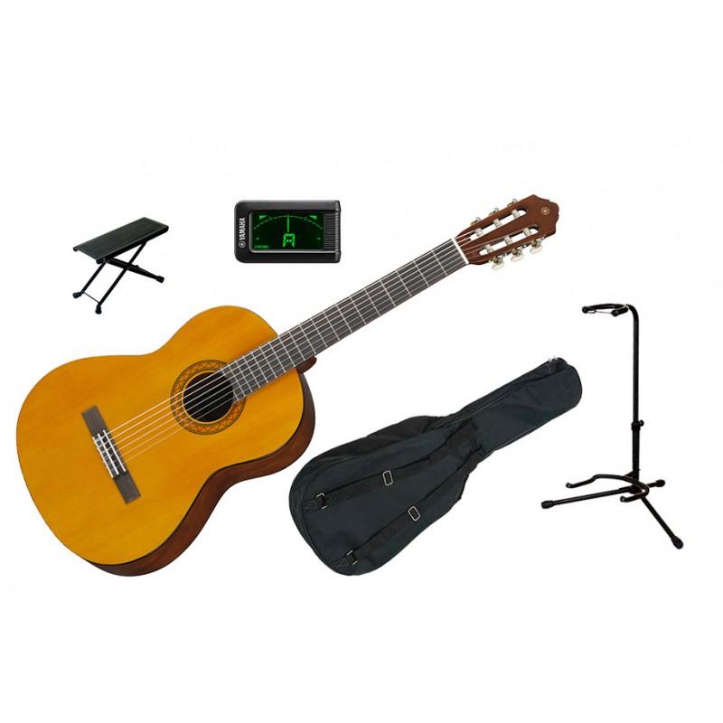 YAMAHA guitare Classique C40 Perf Pack
