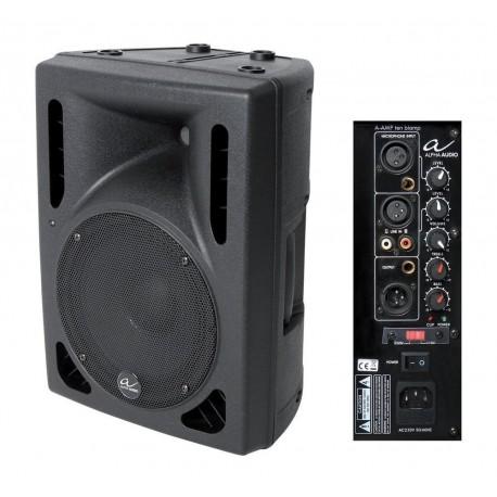 """ALPHA AUDIO 10"""" Active Speaker 110W RMS"""
