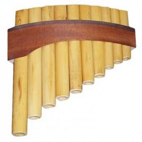 Flûte de Pan 10 notes - Do3 à Mi4