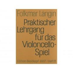 Praktischer Lehrgang Vol 4 - Folkmar Längin - Violoncelle