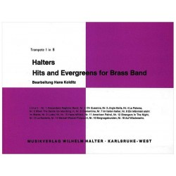 Hits & Evergreens for Brass - Bas-Bes - trombon...