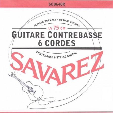Savarez CARTE ROUGE Guitare contrebasse - jeu Normal